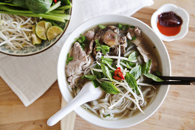 Dad's Pho Bo (Vietnamese Beef Noodle Soup) - meat loves salt